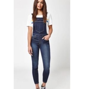 Wrangler for PacSun Exclusive Side Zip Overalls